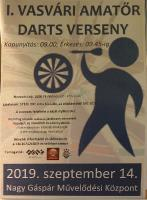 2019.09.14 I. amatőr dartsverseny